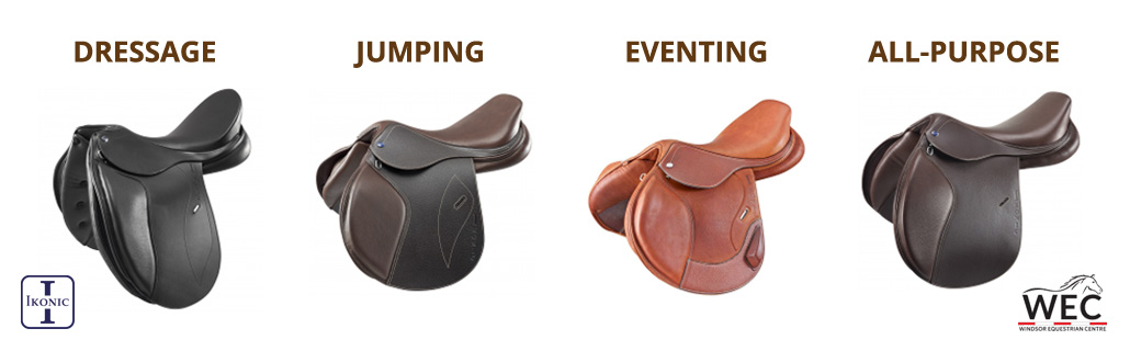 English jumping, dressage and riding saddles for sale in Canada and America